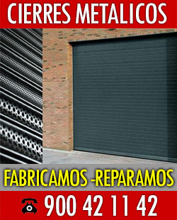 fabricantes cierres metalicos Pozuelo Alarcon