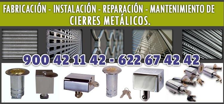 cierres metalicos locales comerciales Pozuelo Alarcon