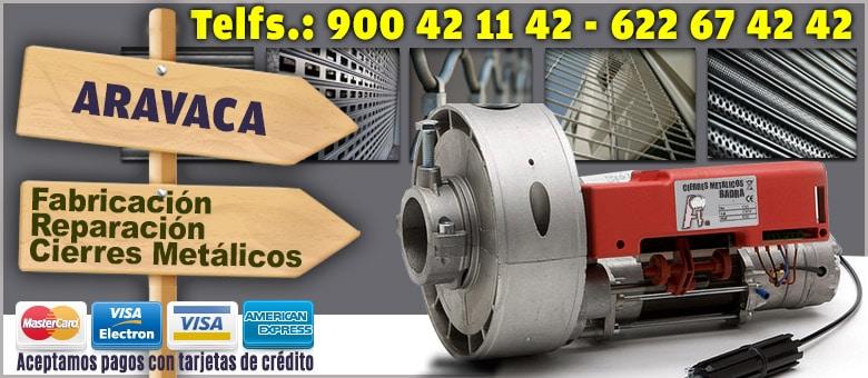cierres enrollables metalicos Aravaca