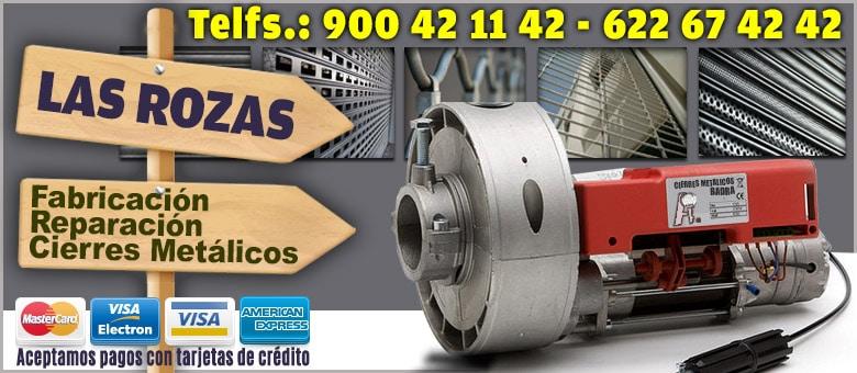 cierres metalicos Las Rozas