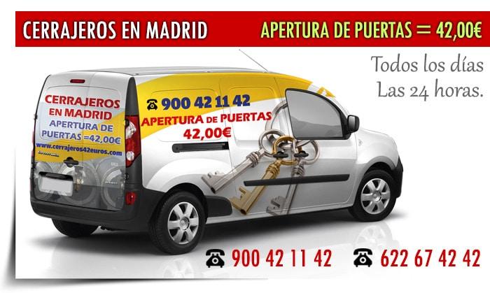 cerrajeros 24 horas Madrid centro