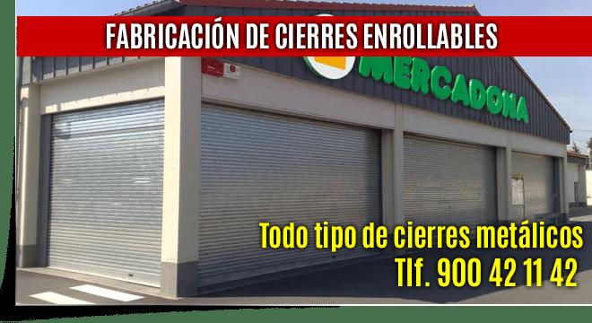 reparacion cierres enrollables locales comerciales