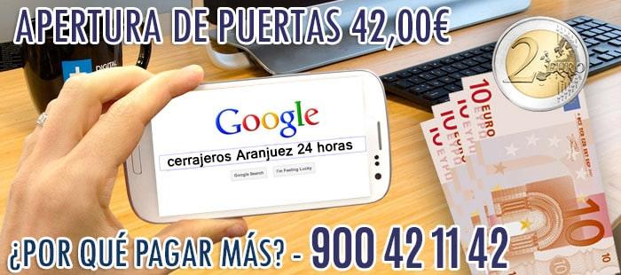 cerrajeros Aranjuez 24 horas